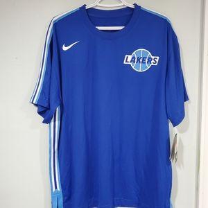 Nike LA Lakers Warm up shirt retro size Large